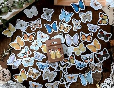 £2.99 • Buy BUTTERFLY STICKERS Insect Flower Scrapbook Journal Diary Card Craft Decoration