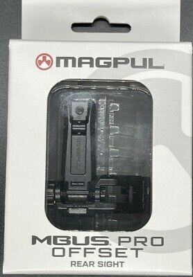 $89.99 • Buy Magpul MBUS PRO Offset Rear Sight 45 Degree Steel MAG526 Authorized Dealer NEW!
