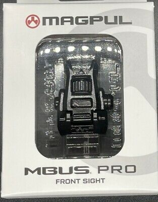 $79.99 • Buy Magpul MBUS Pro Backup Flip Up Front Sight Steel Low Pro MAG275 Authorized Dealr