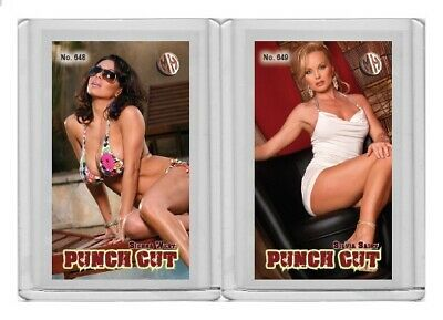 $ CDN6.07 • Buy Sienna West Rare MH Punch Cut #'d 1/3 Tobacco Card No. 648