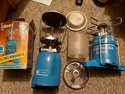 LUMOGAZ Camping Gaz Gas Light & Stove C206 Fishing Camping Used  Old Items • 17£