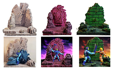 $144.44 • Buy Masters Of The Universe Eternia Minis Diorama Custom Play Set - 3 Sets MSRP $240