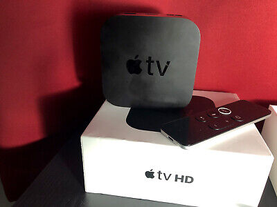 AU141.60 • Buy Apple TV (4th Generation) 32GB HD Media Streamer - Black (MR912LL/A)