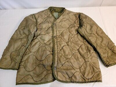 $22.99 • Buy Genuine Military Issue Cold Weather M-65 Field Jacket Liner - Medium