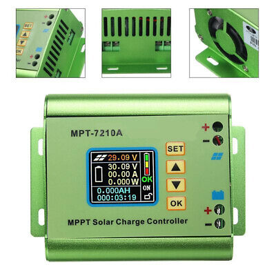 £29.99 • Buy MPPT Solar Charge Controller Ultra Fast Power Point Auto Focus Trackin MPT-7210A