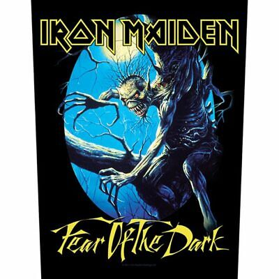 £6.99 • Buy Iron Maiden -  Fear Of The Dark  - Large Size - Sew On Back Patch