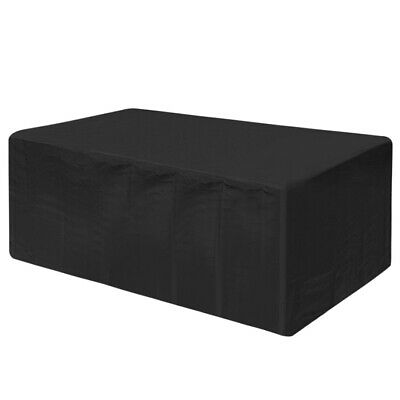 AU27.99 • Buy 7ft/8ft Outdoor Pool Snooker Billiard Table Cover Polyester Dust Cap With Buckle
