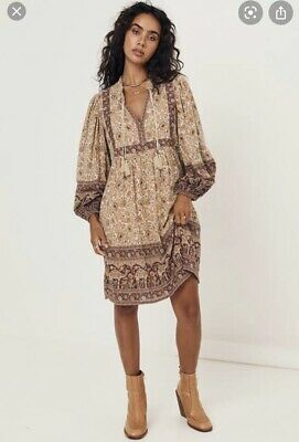 AU220 • Buy Spell And The Gypsy Sundown Boho Mini Dress Size S