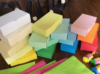 Party Cake Boxes - Larger Size 105x65x35mm - Loads Of Colours 💛💚💙💜 • 4.99£