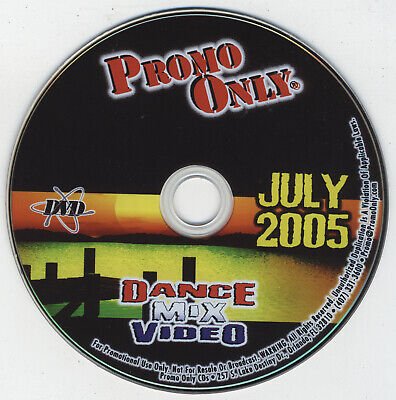 £14.54 • Buy Promo Only Dance Mix Video July 2005 - Erasure Tears For Fears Pink The Killers