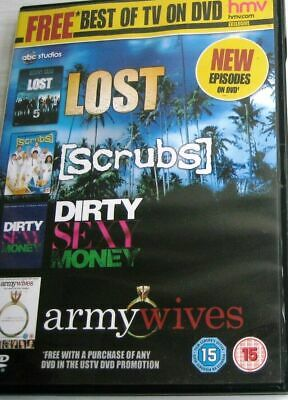 £1.99 • Buy Best Of TV On DVD Lost Scrubs Dirty Sexy Money Army Wives