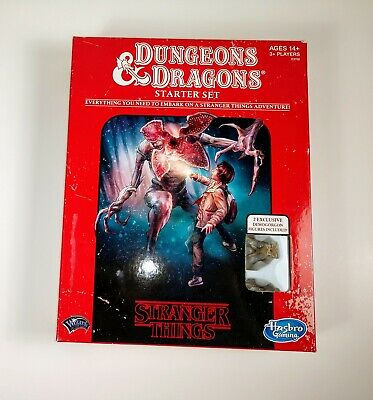 AU17.99 • Buy Stranger Things Dungeons And Dragons Starter Set Complete