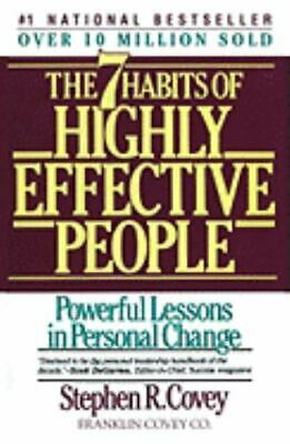 AU4.85 • Buy The 7 Habits Of Highly Effective People [ Covey, Stephen R. ] Used - Good