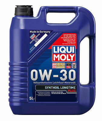 AU137.95 • Buy Liqui Moly Synthoil Longtime Plus Full Synthetic Engine Oil 0W-30 5L Fits BMW...