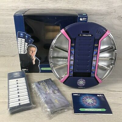£17.98 • Buy Who Wants To Be A Millionaire Tiger Electronic 2000 GAME TESTED 100% COMPLETE