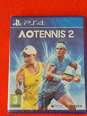 AU16.28 • Buy AO Tennis 2 PS4 Sony PlayStation 4 Australian Open Sports Game BRAND NEW SEALED