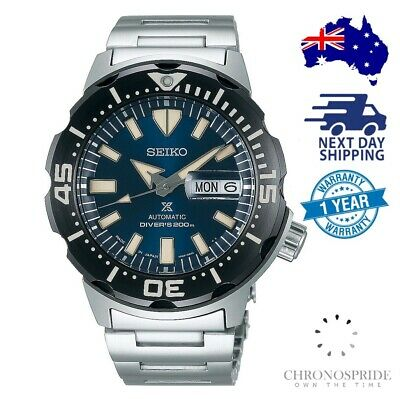 $ CDN573.37 • Buy SEIKO Prospex Monster SRPD25 Automatic Blue Black Mens Watch