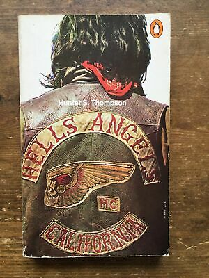 £24.95 • Buy Hells Angels Hunter S Thompson Rare Backpatch Cover Outlaw Bikers 1%er