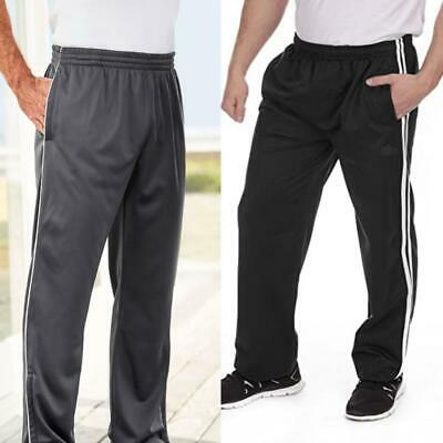 £8.99 • Buy  Mens Striped Tracksuit Bottoms Style Sports Joggers Gym Pants Loungewear