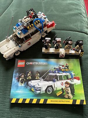LEGO Ideas Ghostbusters Ecto-1 (21108) Used No Box With Instructions And Fig • 23.30£
