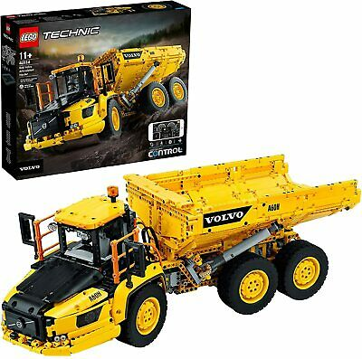 AU339.74 • Buy LEGO 42114 Technic 6x6 Volvo Articulated Hauler Truck RC Construction Vehicle