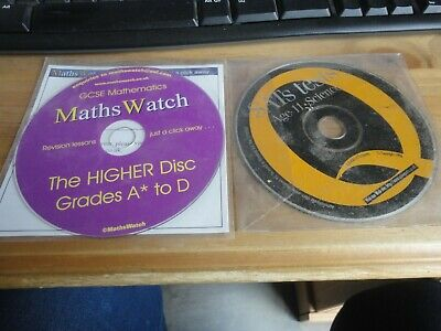 £8.99 • Buy Sats Tests - Age 11 - Science Cd-rom & Gcse Mathematics The Higher Disc