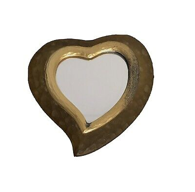 £115 • Buy Vintage Yves Saint Laurent Heart Hand Mirror
