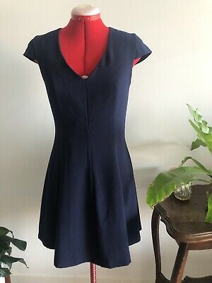 AU20 • Buy BLUE FOREVER NEW DRESS Size 10