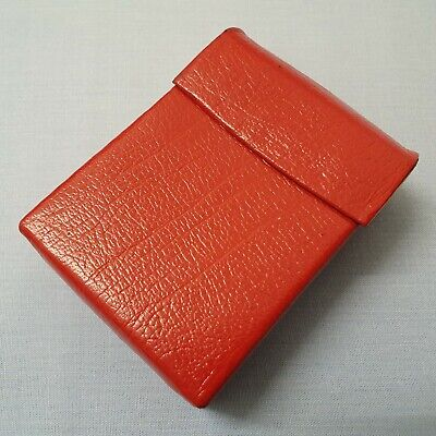 Vintage Made In England Real Leather Cigarette Case  • 18£