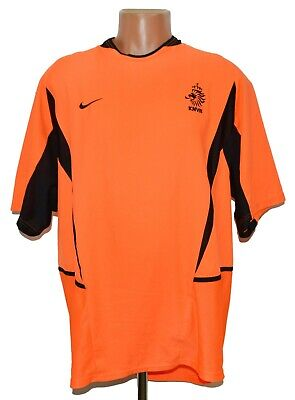 £42.99 • Buy Holland National Team 2002/2004 Home Football Shirt Jersey Nike Size Xl Adult