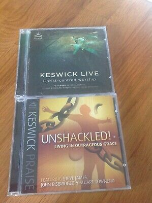 Keswick Praise Unshackled & Keswick Live Christ-Centred Workshop CD's • 14.99£