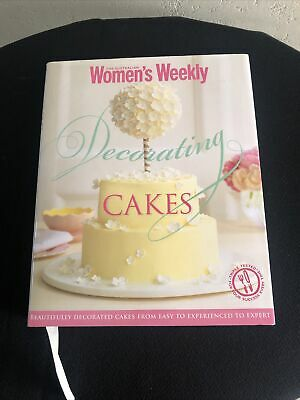 The Australian Womans Weekly Decorating Cakes Brand New Hardback • 1.50£