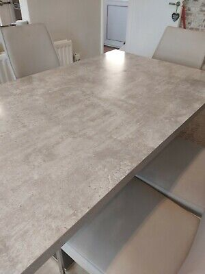 £350 • Buy Marble Effect Dining Table And 6 Chairs Used