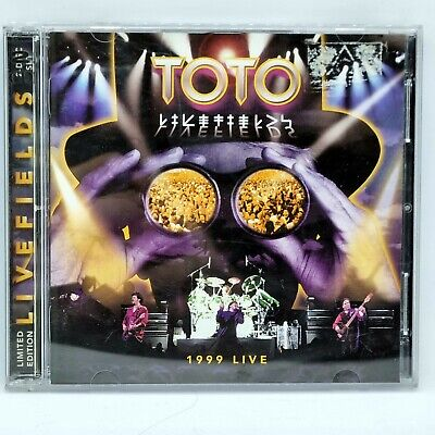 £8.81 • Buy TOTO LIVEFIELDS 2CD Live 1999 Rosanna Free Post