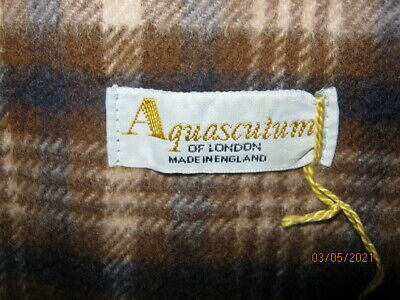 £30 • Buy Aquascutum Of London 100% Cashmere Wool Men's  Scarf Made In England, New
