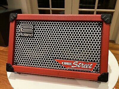 AU399 • Buy Roland Cube Street As New Condition RED