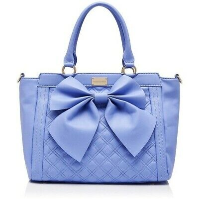 AU13.99 • Buy Forever New Francessca Periwinkle Bow Bag, Brand New With Tags, Spacious Handbag