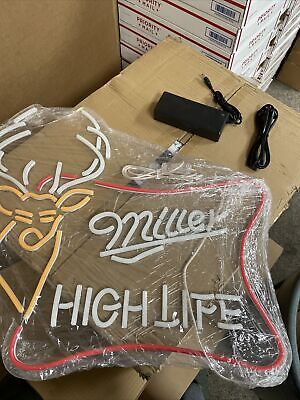 $249.99 • Buy New Clasic Style Miller High Life Neon Beer Sign