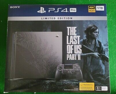 AU455 • Buy The Last Of Us Part 2 Limited Edition PS4 Pro BRAND NEW