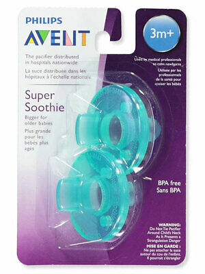 AU9.30 • Buy Philips Avent BPA Free Soothie Pacifier Green 3 Plus Months 2 Count