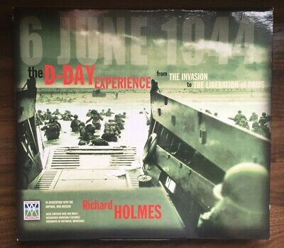£8.50 • Buy The D-Day Experience Book By Richard Holmes IWM With Pull Out Maps And Documents