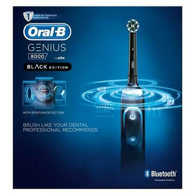 AU100.18 • Buy Oral-B Genius 8000 Smart Electric Toothbrush - Black Edition