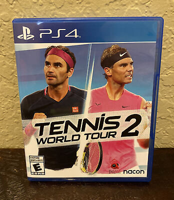 AU32.13 • Buy Tennis World Tour 2 For PlayStation 4 Video Game PS 4 / Mint Condition