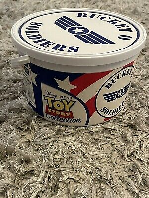 £20 • Buy Disney Thinkway Toy Story Army Men Toys Bucket Of Soldiers Bucket O Soldiers