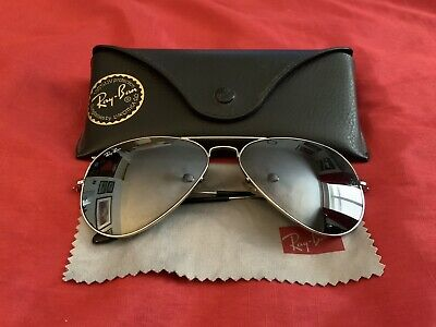 AU62.61 • Buy Ray Ban Aviator Mirrored Sunglasses RB3025