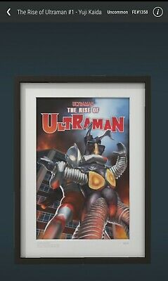 $52 • Buy VeVe NFT - The Rise Of Ultraman #1 Adi Granov(Rare) Sold Out In Seconds! FE#1358