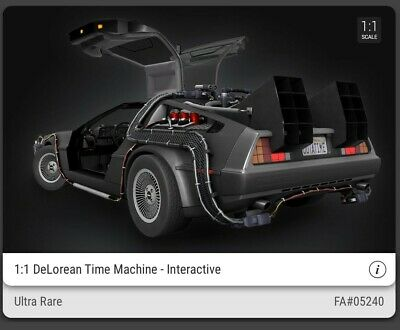$375 • Buy Veve Nft Ultra Rare And Common Delorean. Rare And Sold Out On Veve!!!