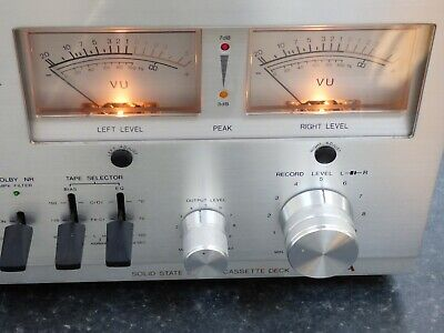 £159.99 • Buy Vintage Aiwa AD-6500 Solid State Cassette Tape Deck Recorder Analogue Indicator