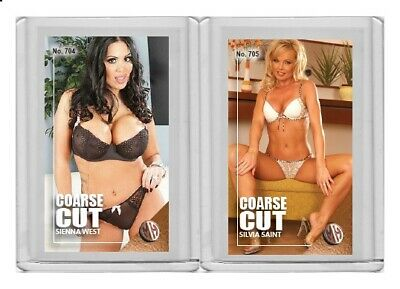 $ CDN6.07 • Buy Sienna West Rare MH Coarse Cut #'d 1/3 Tobacco Card No. 704
