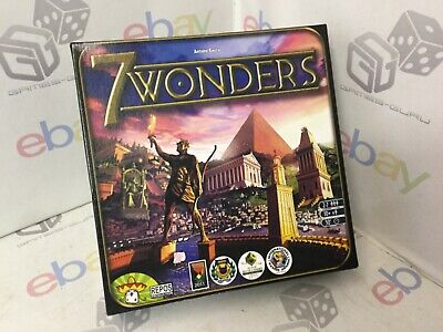 AU26.65 • Buy SECONDS 7 Wonders Board Game Complete SECONDS